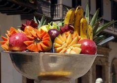 Arreglo frutal colombiano