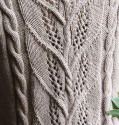 Milkweed Knitting pattern by Carol Sunday Christmas Knitting Patterns, Sweater Knitting Patterns, Arm Knitting, Knitting Designs, Crochet Designs, Knitting Stitches, Knit Patterns, Stitch Patterns, Moss Stitch