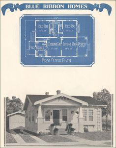Blue Ribbon No. 11561    1924 Blue Ribbon Homes by William A. Radford Co.