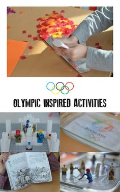 Great ideas for Olympic inspired activities