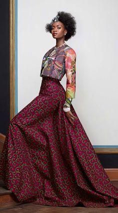 Vlisco Splendeur collection #print #ankara