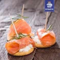#fingerfoods #salmon #cracker #losos #koreczki #przekaska #starter #suempol #przepisy #recipe