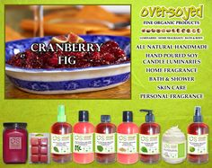 Cranberry Fig Product Collection - Fresh, tart cranberries balanced with sun-sweetened figs.  #OverSoyed #CranberryFig #Cranberry #Fig #MixedFruits #MixedFruit #Fruity #Fruit #Candles #HomeFragrance #BathandBody #Beauty