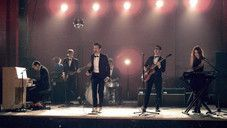 Click Thru Twice On Image to Get to Play Music Video-We Are Young (feat. Janelle Monáe) – Fun. Following the Format's breakup in 2008, frontman Nate Ruess took his songwriting skills to Steel Train's Jack Antonoff and Anathallo's Andrew Dost, both of whom shared a similar affinity for vintage pop music and quirky, melodic hooks. The trio began a series of collaborations in Antonoff's parents' living room and soon enlisted the help of producer Steven McDonald, who recorded their work and