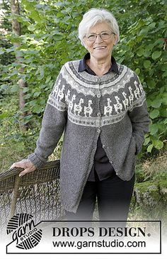Ravelry: 184-19 a Andean Caravan Jacket pattern by DROPS design