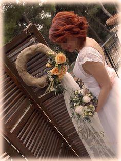 rustic wedding Girls Dresses, Flower Girl Dresses, Rustic Decor, Rustic Wedding, Baptism Ideas, Table Decorations, Wedding Dresses, Flowers, Home Decor