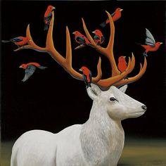 Robert Deyber   ACRYLIC   Animal Attraction
