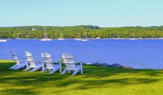 Morning in Ephraim by Boyd Stewart on Capture Door County // I have a chair saved for you.