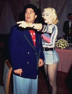 Almodóvar with Madonna.