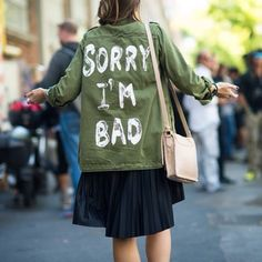 Street-Chic Utility Jacket | Spotted on @Le 21ème