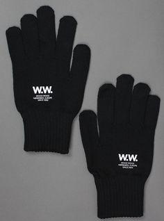 #newin Wood Wood Printed Gloves