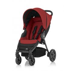 da49744db772b Britax Romer B-Agile 4 Pushchair - Chili Pepper