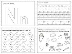EDUCATIA CONTEAZA: Literele L, M, N Word Search, Diy And Crafts, Bullet Journal, Printables, Puzzle, School, David, Colors, Double Deck Bed