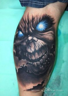 Eddie tattoo by Robert Witczuk