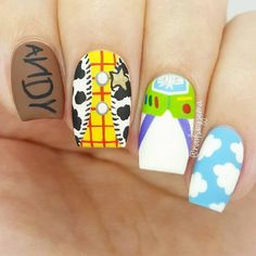 Give style to your nails with nail art designs. Worn by fashion-forward stars, these nail designs will incorporate instant glamour to your wardrobe. Cute Nail Art, Cute Nails, My Nails, Disney Acrylic Nails, Best Acrylic Nails, Disney Nails Art, Disney Manicure, Beautiful Nail Designs, Cute Nail Designs