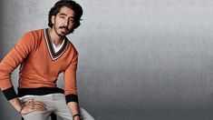 The actor discusses his new film, Lion, his career, and his family, and models retro-futurist colors and patterns.