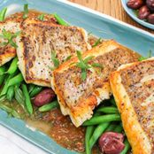 BBQ Snapper with Easy Tomato Sauce