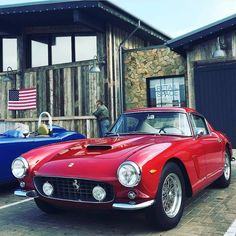 "1,509 Likes, 1 Comments - FERRARI ONLY ! (@ferrari.lovers) on Instagram: ""#250swb A very nice day in #Malibu indeed..  @srkstr"""