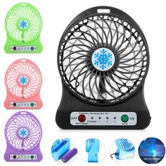 Small Air Conditioning Appliances Home Appliances Aggressive Creative Cartoon Fan Mini Cartoon Spray Fan Portable Fan Outdoor Charging Small Fan At Any Cost