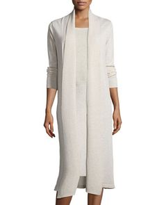 Washable+Wool+Kimono+Duster+Cardigan+by+Eileen+Fisher+at+Neiman+Marcus.