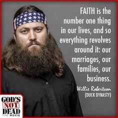 Willie Robertson in God's Not Dead