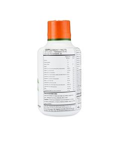 Amazon.com: Liquid Multivitamin- Peach Mango 'Fruits & Greens' 16 oz - 32…