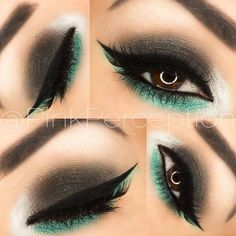 40 Eye Makeup Looks for Brown Eyes-Many brown-eyed ladies are unaware of the different ways to use makeup in order to make their eyes pop. Luckily, the internet is packed with gorgeous makeup looks and tutorials by talented makeup artists. Gorgeous Makeup, Pretty Makeup, Love Makeup, Amazing Makeup, Dead Gorgeous, Beautiful, Eyeshadow Looks, Eyeshadow Makeup, Hair Makeup