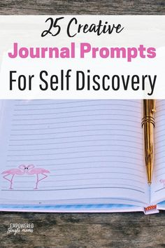 These journal prompts for adults and teens will guide you on your path to self discovery and improve your mental health. Kids Writing, Writing A Book, Writing Prompts, Writing Ideas, Journal Prompts For Adults, Journal Ideas, How Do I Live, Journal Questions, Making A Vision Board