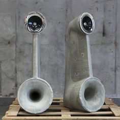 Linski Concrete Speakers