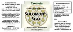 Solomon's Seal products