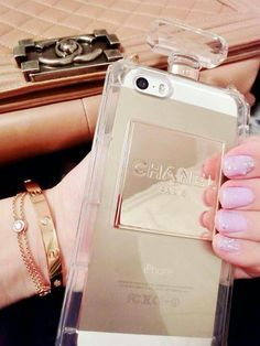 Chanel Parfum Chic iphone 5c case from storenvy $35