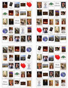 LDS General Conference Bingo Card Printables!