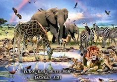 Génesis 1:31 31Después de eso vio Dios todo lo que había hecho y, ¡mire!, [era] muy bueno.  Y  muy pronto todo lo será ...#promesa de Dios