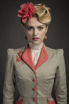 This is Lucy Westenra. She is Mina's best friend.
