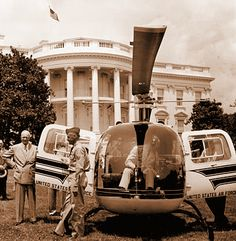 Image result for mamie eisenhower with helicopter