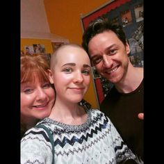 A cancer stricken teenager who is battling to raise more than a million pounds to stay alive has become the 'darling' of the celebs. James McAvoy recently donated £50,000 to help get her to...