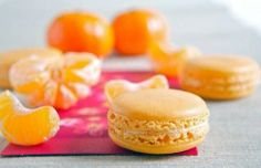 Winter Solstice: #Clementine #Macarons with #Orange #Buttercream, for the #Winter #Solstice.