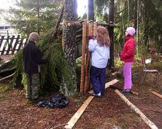 Adventure play . construction play - Architecture in education. Project in 2 primary schools in Aurskog-Høland. Project leader: Frode Svane.