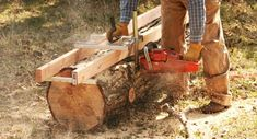 Make Your Own Lumber With a Chainsaw Mill
