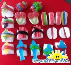 Afbeelding van Sushi van snoep