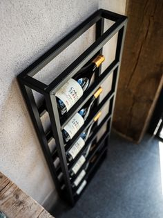 Furniture Buy Now Pay Later Welded Furniture, Steel Furniture, Home Furniture, Furniture Design, Wine Rack Wall, Wine Wall, Wine Rack Design, Wine Stand, Home Wine Cellars