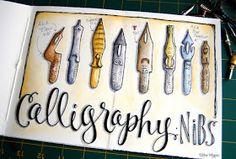 calligraphy nibs   _Lori Vliegen in her elvie studio