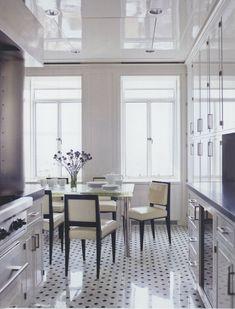 high gloss & patterned floor #flooring tiles, patterns, concrete flooring,  marble, quartz, granite,  wooden flooring,  painted floor, inlay, spanish tiles,  terracotta, bamboo, terrazzo,  mosaics