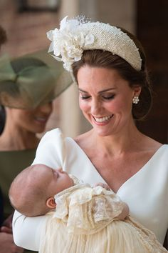 Updates from christening of Kate and William's third child Prince Louis