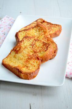 yummie! Wentelteefjes van brioche brood: 4 plakjes brioche brood 200 ml melk 1 ei 1 tl kaneel