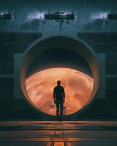 Images: A Collection Of Sci-Fi Concept Art From Beeple. spoiler free science fiction news from the movie sleuth. Science Fiction Kunst, Rpg Cyberpunk, Natur Wallpaper, Wallpaper Wallpapers, Imagine Dragons, Fantasy Landscape, Sci Fi Fantasy, Retro Futurism, Sci Fi Art