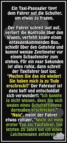 Der neue Taxifahrer - Witze des Tages 18.06.2015 | Funcloud