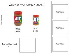 Which is the Better Deal? with Real Pictures (Adapted Book) | TpT