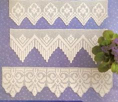 811 Best Crocheted Trim Images Crochet Lace Crochet