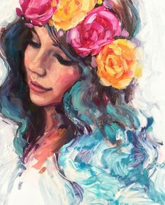 We Focus on Hollywood Entertainment News, Wedding Dresses, Lifestyle, Fashion, Aso Ebi series and other media contents aimed at US and Pan-African audiences top drawing 21 Must Known Tips and Idea for A Flower Girl Art Painting in 2019 Painting Of Girl, Painting & Drawing, Painting Tips, Girl Paintings, Images Kawaii, Art Sketches, Art Drawings, Watercolor Paintings, Original Paintings
